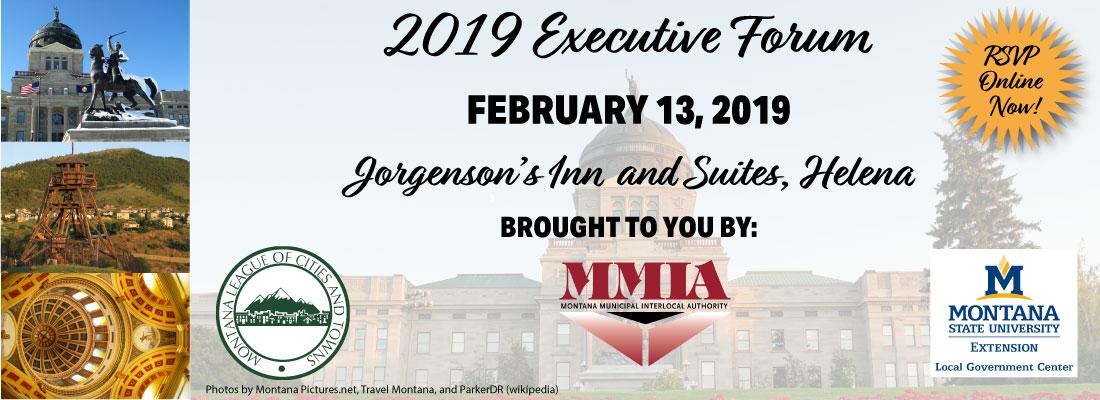 Executive Forum @ Jorgenson's Inn & Suites | Helena | Montana | United States