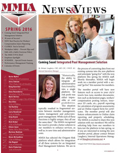 MMIA News & Views - Spring 2016